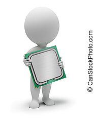 3d small people - processor