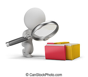 3d small people - search documents