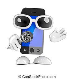 3d Smartphone rapper
