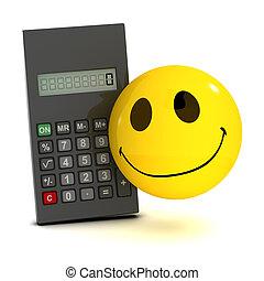 3d Smiley calculator