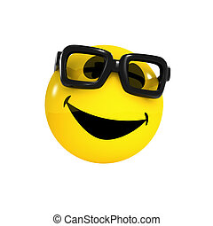 3d Smiley student