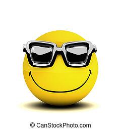 3d Smiley sunglasses