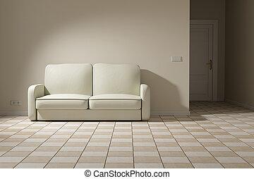 3d, sofá