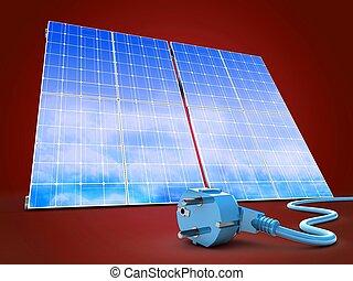 3d solar panel