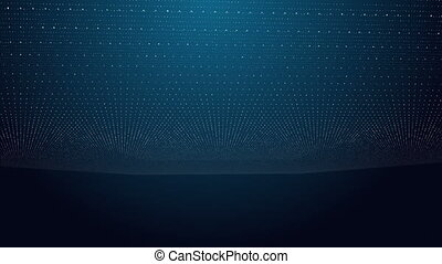 3d Space Dots Background Loopable