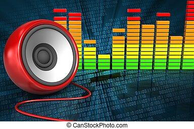 3d speaker blank