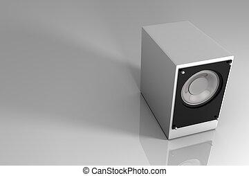 3d speaker mono