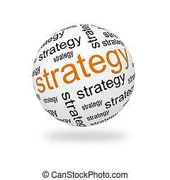 3d, sphère, stratégie
