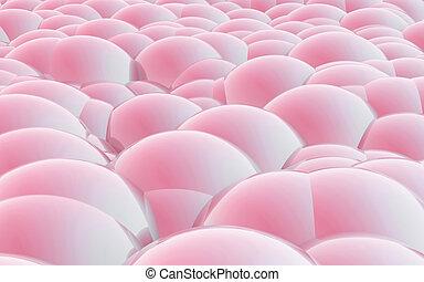 3D Spheres crossover pink skin