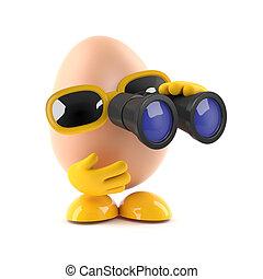 3d Spy egg
