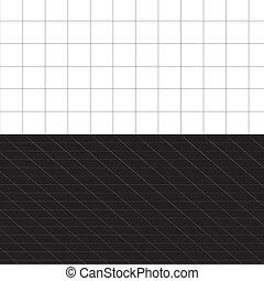 3D Squares Grid