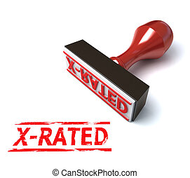 3d stamp x-rated illustration