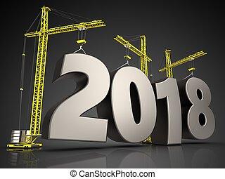 3d steel 2018 sign