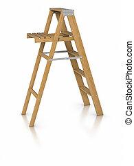Step ladder - 3D Step ladder.