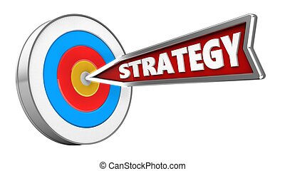 3d strategy arrow