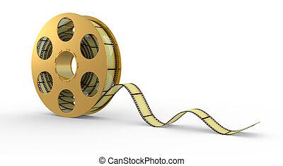 3d, striscia cinematografica