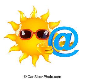 3d Sun has an email address