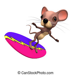 3d Surfing mouse