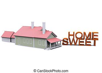 3d sweet home