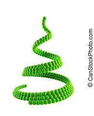 3d symbolic Christmas tree - symbolic christmas tree 3d...