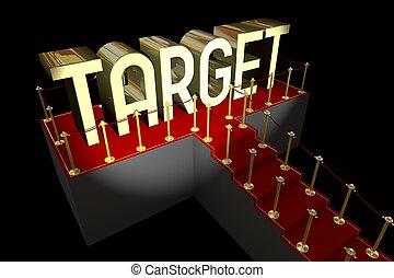 3D target concept