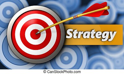 3d target with strategy