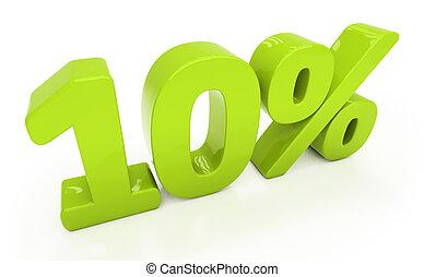 3D ten percent isolated
