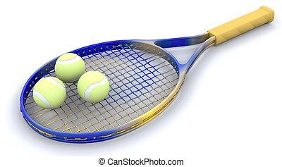 3D Tennis gear