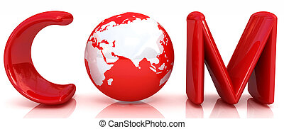 3d text com for earth
