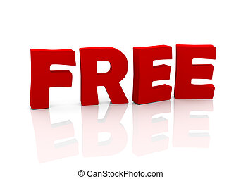 3d text free