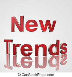 3D Text New Trends