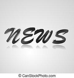 3D Text News