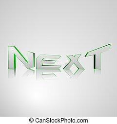 3D Text NEXT