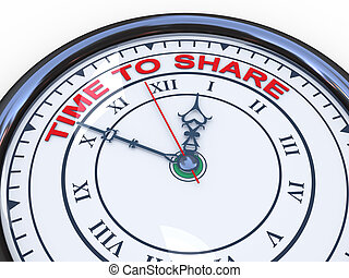 3d time to share clock