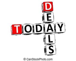 3D Today Deals Crossword