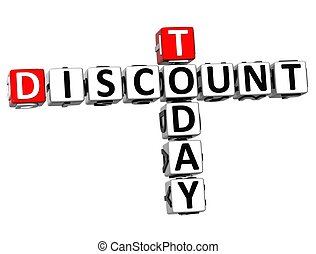 3D Today Discount Crossword