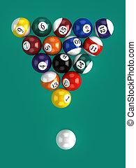 3d Top Down Pool Game