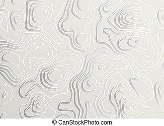 3d topographic map contour elevation concept background
