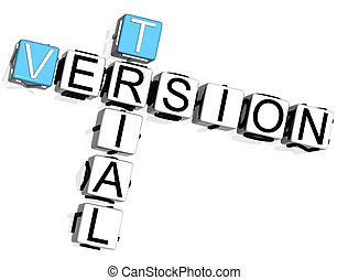 Trial Version Crossword - 3D Trial Version Crossword on ...