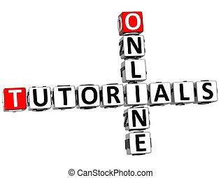 3D Tutorials Online Crossword