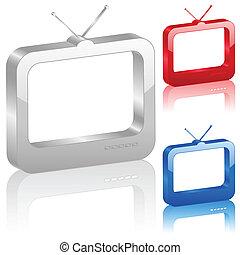3D TV symbol