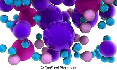 3D TV technology concept  - 3D TV technology concept