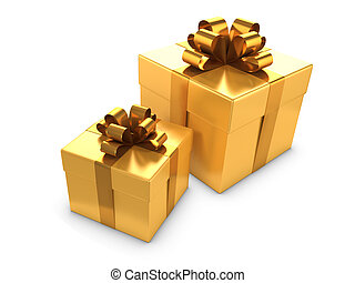 3d Two gold gifts