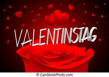 3D Valentinstag - Velentines - German - 3D Valentinstag -...