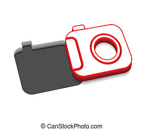 vector camera icon design