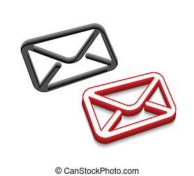 vector email icon design