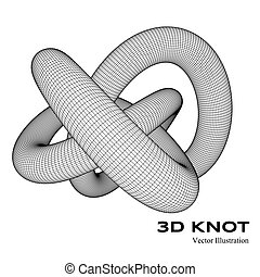 3d vector knot
