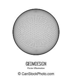 3d vector sphere