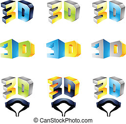 3D Viewing Experience 2 - 3D Viewing Experience logos ...