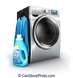 3d washing machine